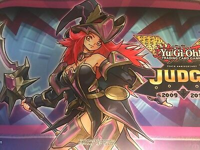 Yugioh Summon Sorceress Judge Playmat Mat Sofu-Ense2 Jump-En084