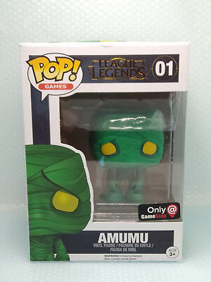 Funko Pop Amumu (Not Mint) # 01 League Of Legend (Protector)