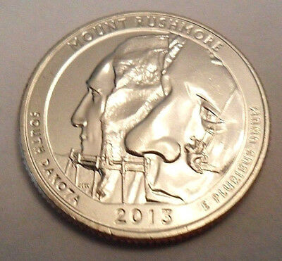2013 P Mount Rushmore National Park Quarter  **FREE SHIPPING**