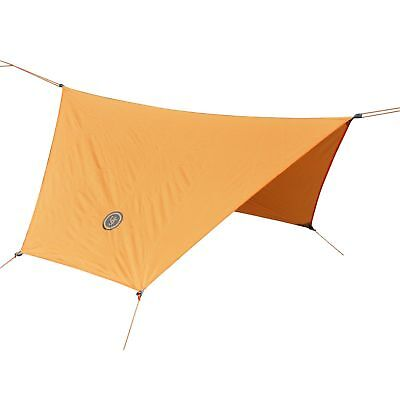 "UST BASE Hex Tarp 108"" x 96"" Camping Hiking Backpack Survival Shelter Canopy-"