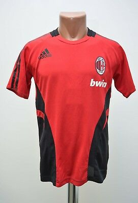 Ac Milan 2008/2009 Training  Football Shirt Jersey Adidas Size L Adult
