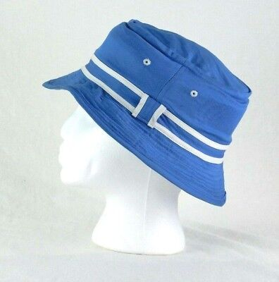 f0e7245c8adb Paris Accessories Blue   White Fisherman Bucket Hat Outdoor Hiking Hunting  Small