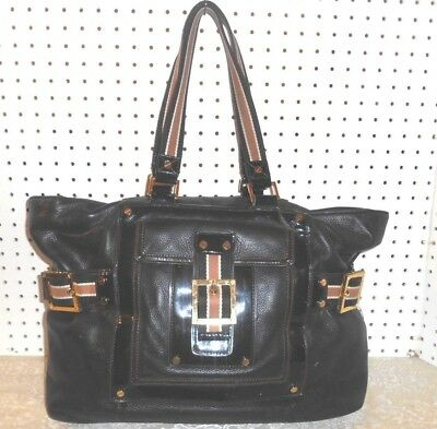683b2f929d2a Authentic Tory Burch Luggage Brown Leather Weekender Large Tote Handbag