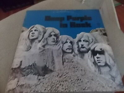 Deep Purple In Rock     Record  Wb 1877