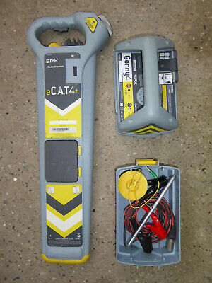 Radiodetection eCAT4+ Cable Avoidance Tool & Genny 4