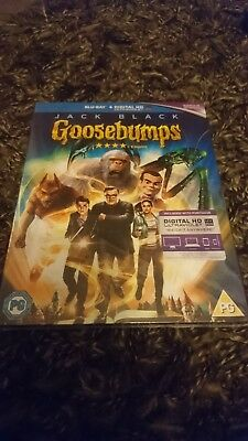Goosebumps (Blu-ray 2016) Jack Black,   NEW AND SEALED