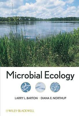 Microbial Ecology by Larry L. Barton (English) Hardcover Book Free Shipping!