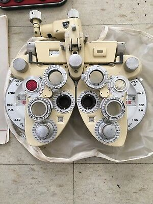 AO Minus Cyl Phoroptor With Auxiliary Lenses (excellent condition) Made In USA.