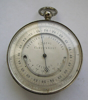 Holosteric Barometer + Thermometer compensirt  BERLIN