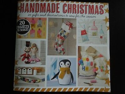 Craft Sewing Pattern Book to Create 20 Gifts & Decorations - Xmas