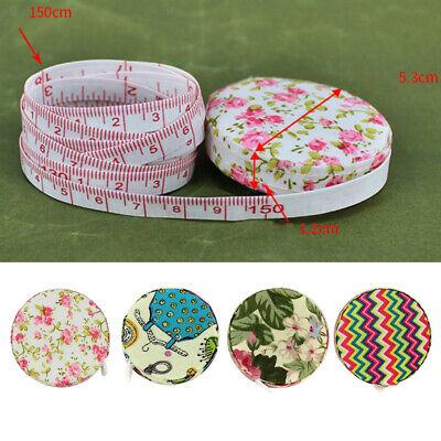 "4X 60""/1.5M Soft Retractable Measuring Tape Body Tailor Sewing Tape Measure"