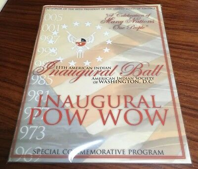 11th American Indian Inaugural Ball / Pow Wow Program (2009) Nathan Phillips