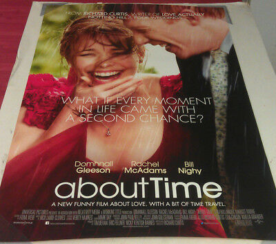 ABOUT TIME MOVIE POSTER 2 Sided ORIGINAL FINAL 27x40 RACHEL MCADAMS