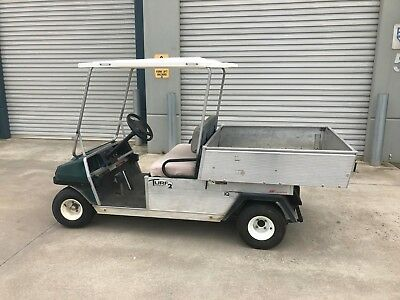 Club Turff Carry All Golf Cart / Caravan Park Or Similar / With Charger.