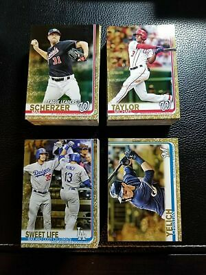 2019 Topps Series 1 GOLD BASE PARALLEL /2019 You Pick Your Card RC LL WS