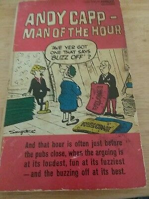 Andy Capp Man Of The Hour Hats Off Andy Capp Right On Cue By