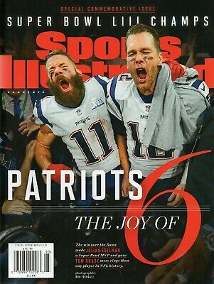 Sports Illustrated 2019 New England Patriots Super Bowl LIII Commemorative Issue