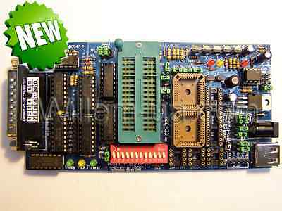 Programmer Willem PCB5-F V2.1 Flash Gold. HIGH QUALITY 2018!