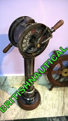 COLLECTIBLE Brass Ship's Engine Order Telegraph Maritime Collectible Decorative