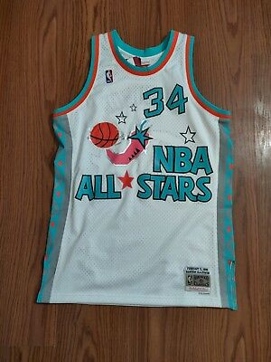 new style a9a25 61aa0 NWT MITCHELL AND Ness Hakeem Olajuwon All star west Swingman jersey sz XL