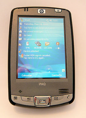 HP iPAQ hx2400 Series PDA including all Accessories & High Capacity Battery