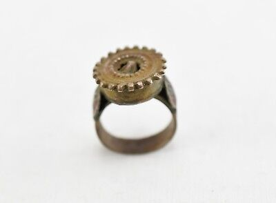 Antique Beautiful Medieval Crown Ring VTG