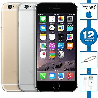 Apple iPhone 6 - 16GB 64GB 128GB - Unlocked - All Networks- Various Colours