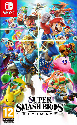 Videogioco Super Smash Bros Ultimate Nuovo Originale Italiano Nintendo Switch