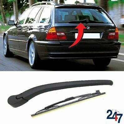 BMW 3 E46 ESTATE 1998-2005 WINDSCREEN BACK WINDOW REAR WIPER ARM /& BLADE 290MM