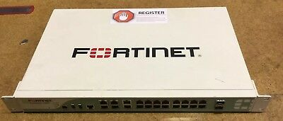 FORTINET FORTIGATE FG-100D Firewall Appliance Router Interface