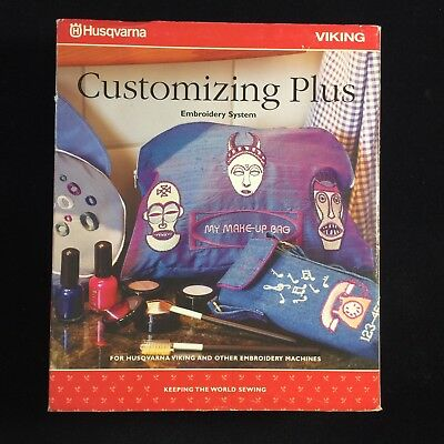 Husqvarna Viking Customizing Plus Embroidery System Software - Includes Dongle