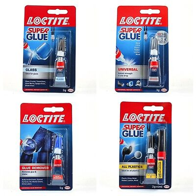 Loctite Super Glue Superglue Remover Universal Glass All Plastics Adhesive Bond