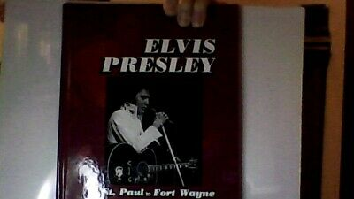 Elvis Presley From St Paul To Ft Wayne 2015 Tunzi Hardback Book New Oop