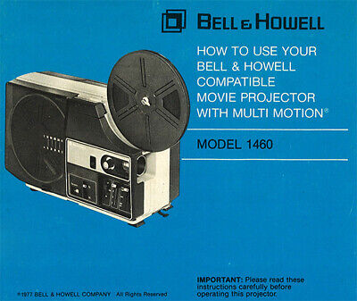 BELL HOWELL MONITOR 960 Slide Projector Instruction Manual
