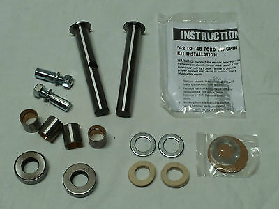 Kingpin Set  f. 1942-48 Ford, Achsschenkelbolzen, Hot Rod, Ratrod, Model A