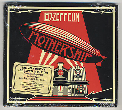 Led Zeppelin - Mothership - 2CD Remastered Digipak Edition New With Hype Sticker