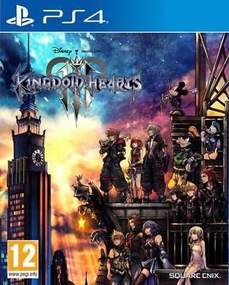 Kingdom Hearts Iii 3 Ps4 Playstation 4 Nuovo Sigillato Copertina Eu Italiano