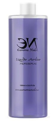 Liquido Acrilico 1000ml  - Profesional - Secado rápido - Economic Nails
