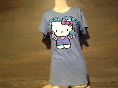 6b927a78a Hello Kitty Obsessed Cupcake T-Shirt Womens SIZE XL NEW NWT $20 SHORT SLEEVE