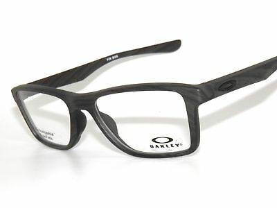 9a8dcbe2aa NEW OAKLEY FIN Box RX Prescription Frame Grey Tortoise OX8108-0453 ...