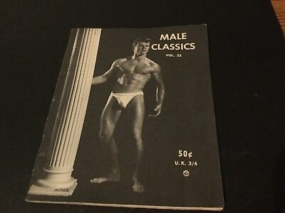 Rare vintage physique magazine Male Classic  vol 22 muscle beefcake gay interest