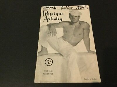 Rare Physique Artistry Sailor special 1960 muscle beefcake magazine gay interest
