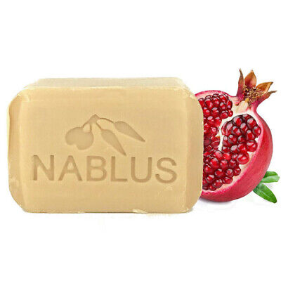 Nablus Soap Natural Formula Organic Handmade pomegranate Olive Oil Dead Sea