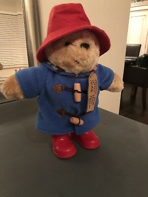 Paddington Bear Classic Soft Toy Boots Hat Cuddly Traditional Official 24cm