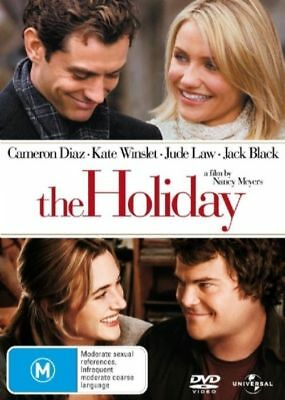 The Holiday (DVD, 2007) PAL Region 2-4-5 🇦🇺 Brand New Sealed Free Postage