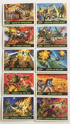 Mars Attacks Deleted Scenes Chase Card Set 10 Cards Topps 2012