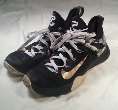 51601e834f7e Nike Zoom HyperRev 2014 Men s Sz 9.5 Paul George PE Black Gold 705370-071