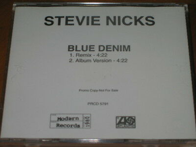 STEVIE NICKS - Blue Denim - 2 Track DJ PROMO CD w/ REMIX PRCD-5791 fleetwood mac