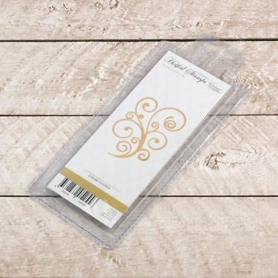 NEW Couture Creations - Anna Griffin GoPress Curling Flourish Hot Foil Stamp By