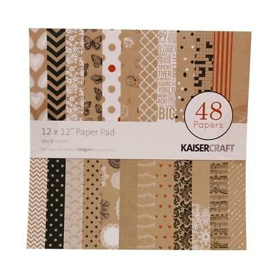 NEW Kaisercraft Mix & Match Paper Pad By Spotlight